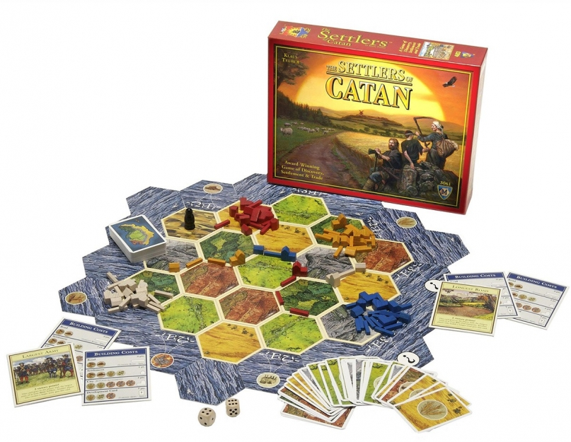 Settler of Catan board game
