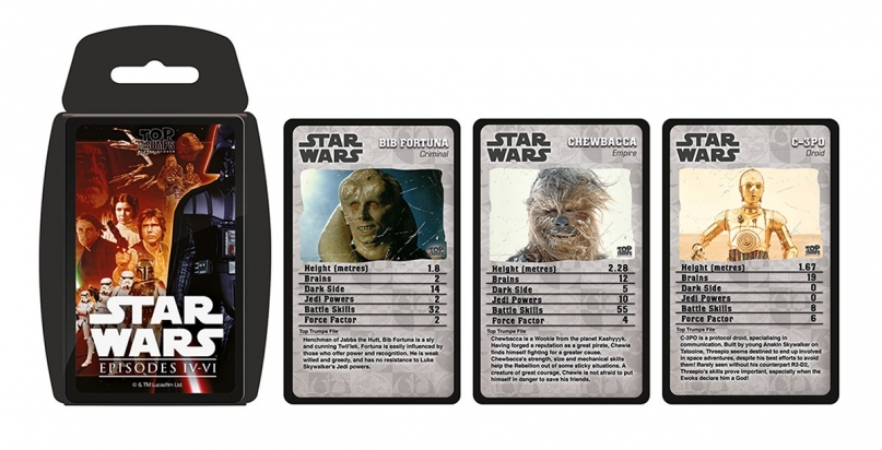 Top trumps star wars
