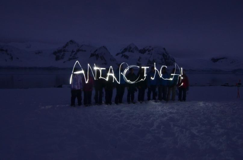 Antarctica lights