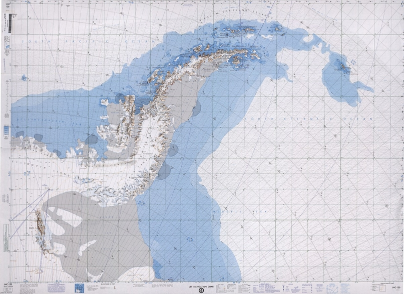 Nautical map Antarctica