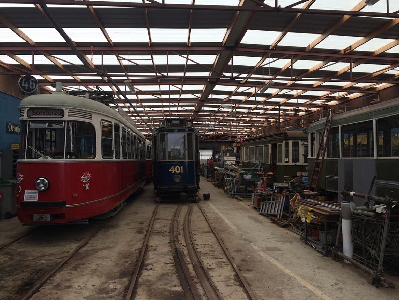 Amsterdam tram museum
