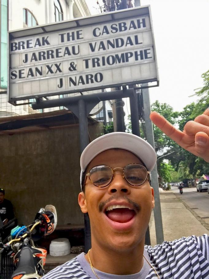 Jarreau Vandal Digital Nomad