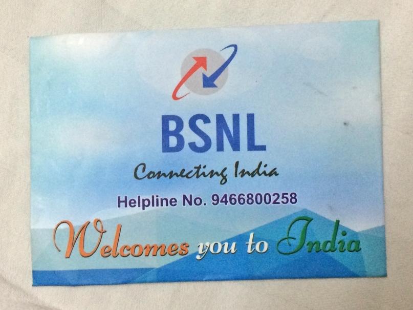 BSNL Free sim card