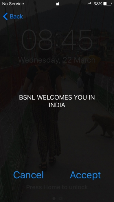 BSNL sim card welcome