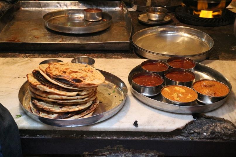 Delicious vegetarian food India