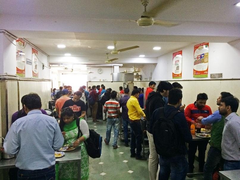 Local restaurant India
