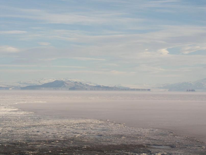 Fata morgana Antarctica