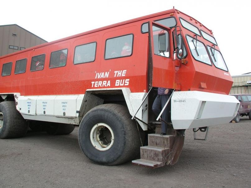 Ivan Terra Bus Antarctica