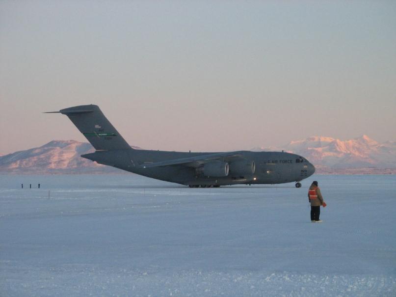 US army plane antarctica