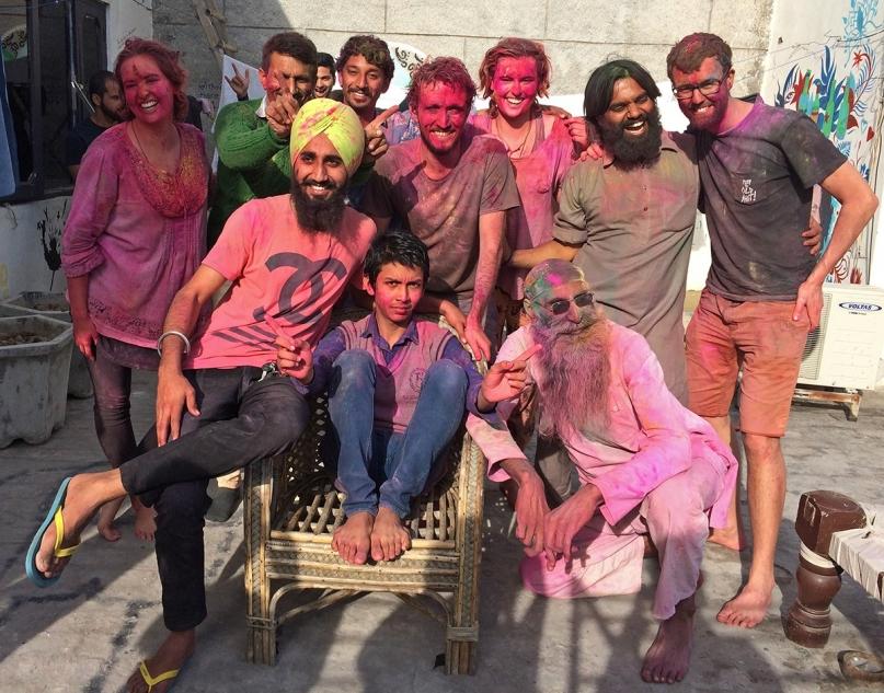 Jugaadus Amritsar Holi festival