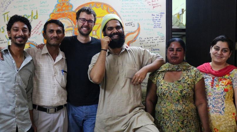 Jugaadus hostel Amritsar staff