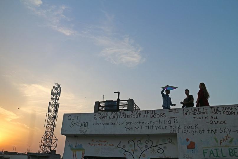 Jugaadus rooftop kite