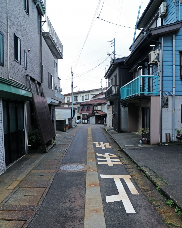 Tokamachi street Japan