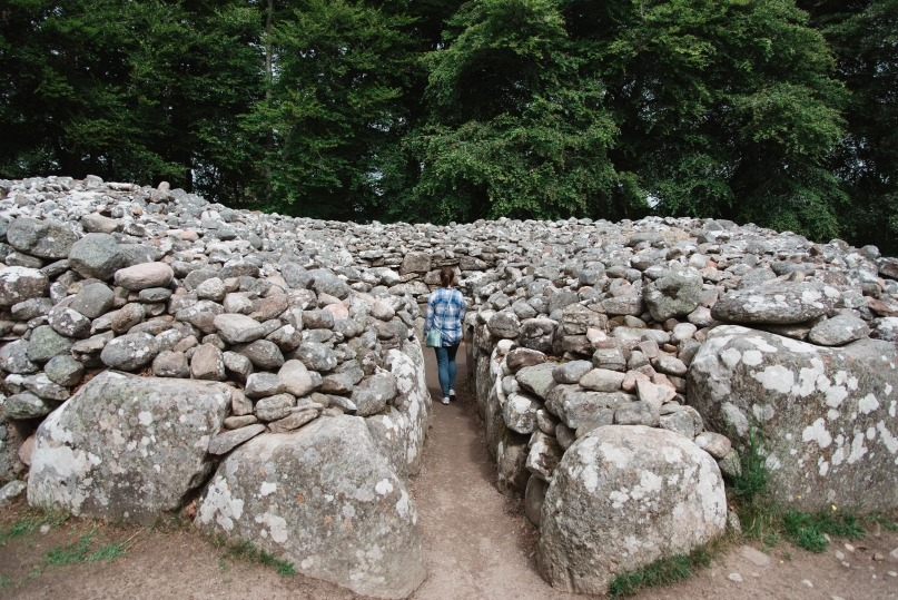 Clava Cairns passage tombs Scotland