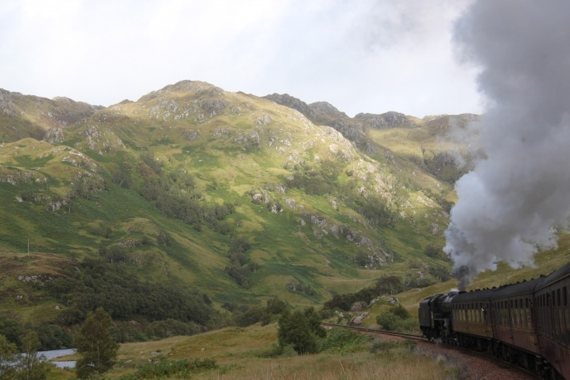 Jacobite Steam Train Fort William Scotland