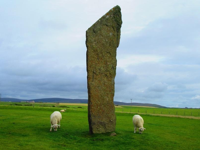Orkney island in Scotland