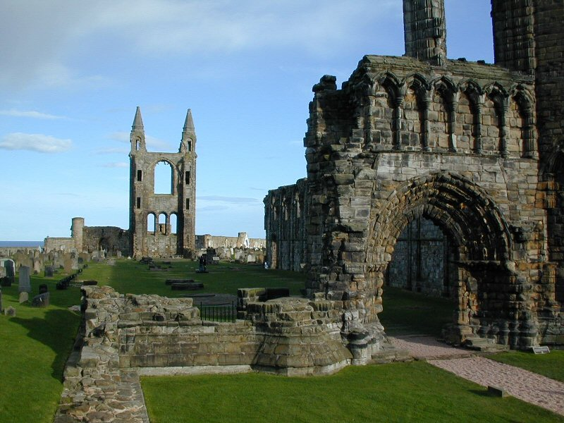 St. Andrews cathedral Scotland