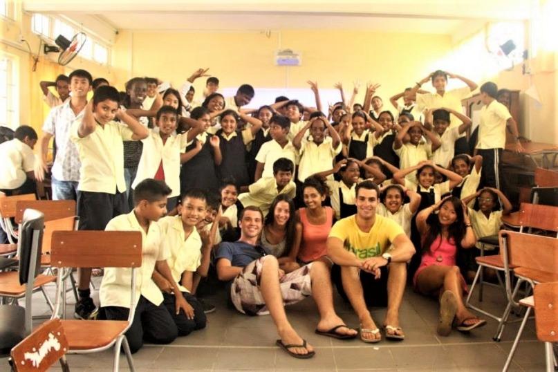 Volunteering as a Yoga teacher in Mauritius
