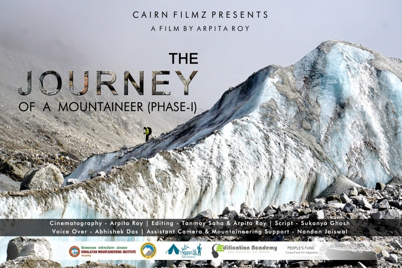 Helping out at the International Mountaineering Foundation Film Festival