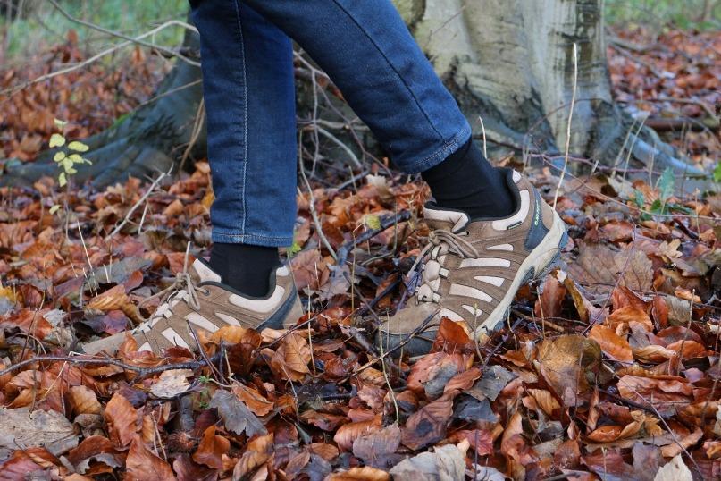 Hi-Tec Hiking Boots with LOOW merino wool socks